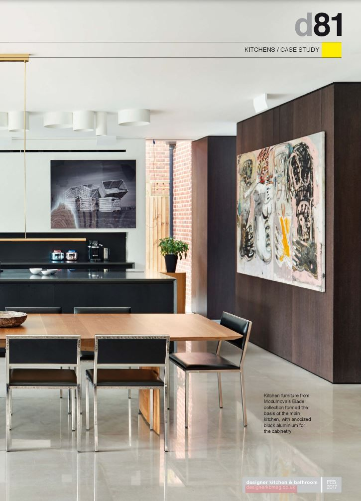 A Sleek Modern Kitchen From DeigsnSpace London.  Http://www.designspacelondon.