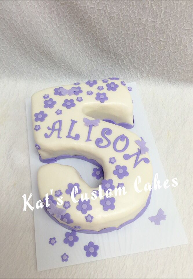 Pictures Of Number  Birthday Cakes