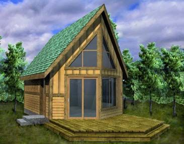 302 best my future cabin images on pinterest log houses for Prow style house plans