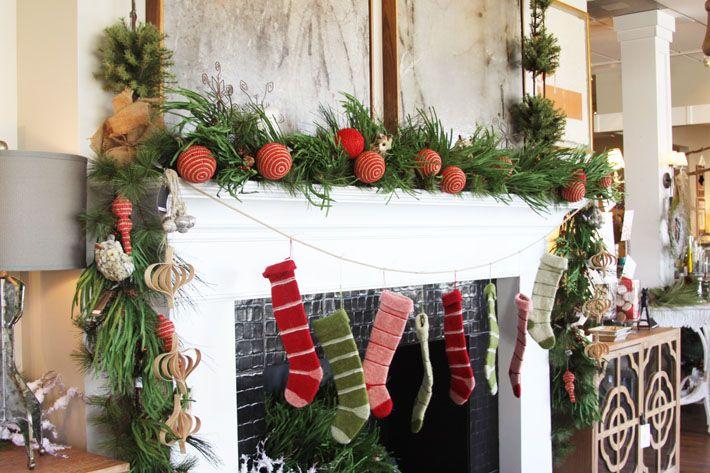 christmas mantle: Decorations Mantels, Bells Christmas Ideas, Christmas Holidays, Christmas Decorations, Christmas Decorating Ideas, Holiday Mantel, Christmas Mantels