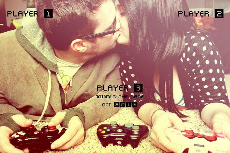 Our Gamer Pregnancy Announcement <3 #pregnancy #announcement #pregnancyannouncment #baby #babyannouncement #gamer #videogame #geek