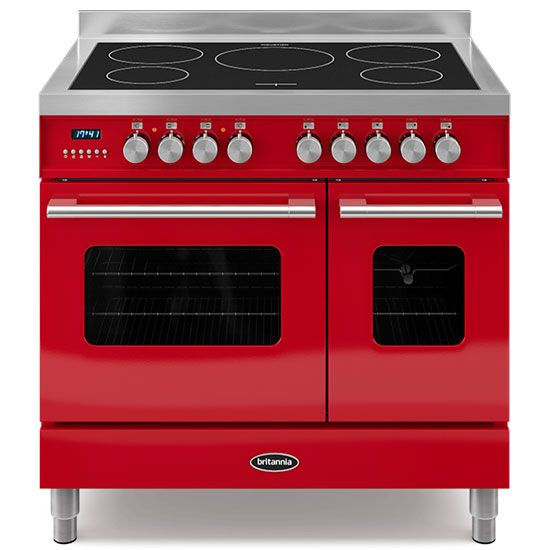 Delphi 90cm twin-oven range cooker | Britannia | Best range cookers with induction hob | girlabouttech.com