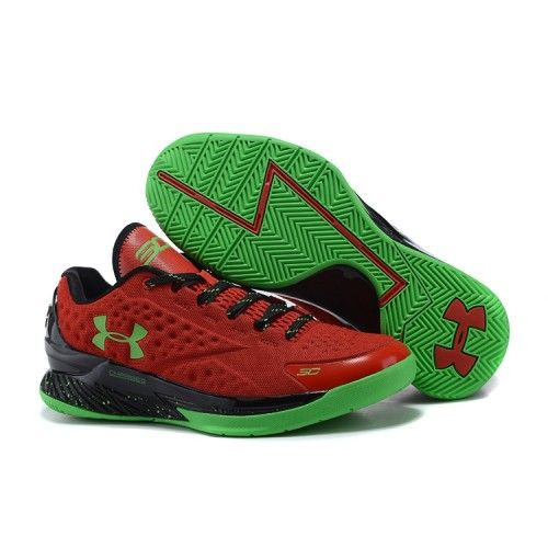 newest collection 6cb0b e134c Outlet Under Armour Charged Foam Curry 1 Low - Men s Bolt Orange Avex Green  Basketball
