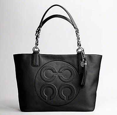 Shopping+With+Ayu:+COACH+Colette+Leather+Op+Art+Logo+Tote+Style+16485...