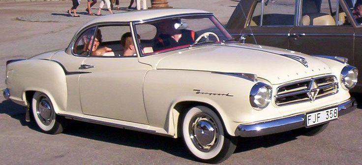 Die Borgward Isabella war insbesondere als Coupé einer der deutschen Traumwagen der Wirtschaftswunderzeit schlechthin. Sie wurde bis 1962 gebaut. (Bild: Lglswe /CC 3.0)
