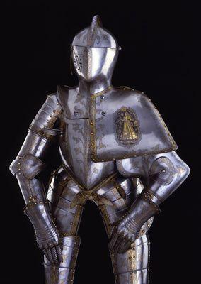 Turnierharnisch für das Welsche Gestech  Peffenhauser, Anton (Hersteller)  Augsburg. 1588.