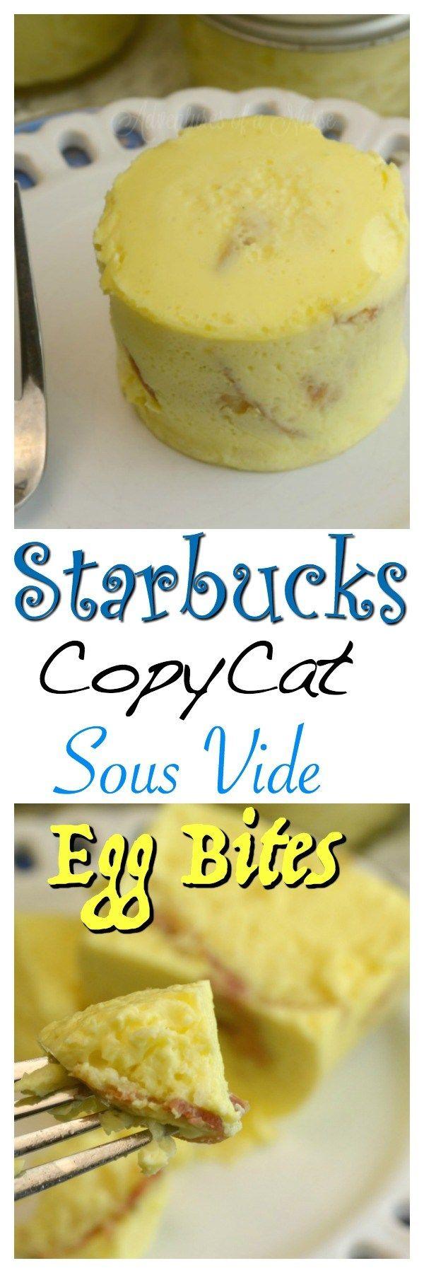 Starbucks Copycat Sous Vide Egg Bites