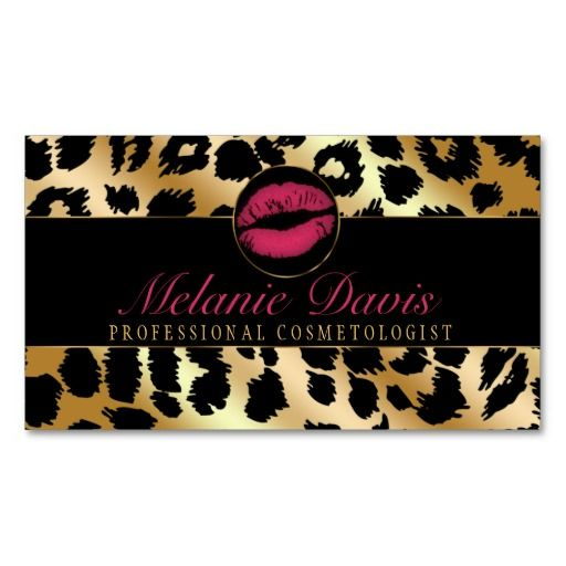 229 best makeup artist business cards images on pinterest makeup chic cosmetology business card colourmoves