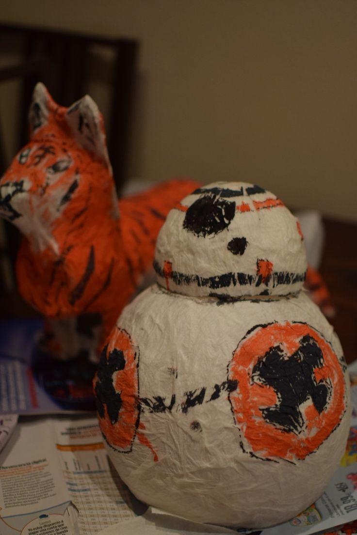 Como hacer un BB8, un disfraz de Rey (Star Wars) y un tigre para carnaval