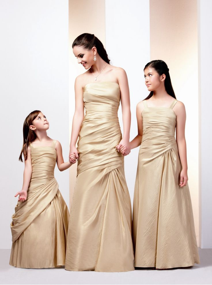 Gold bridesmaid dresses collection bridesmaids pinterest for Gold bridesmaid dresses wedding