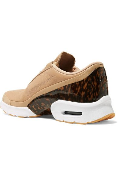 Nike - Air Max Jewell Lx Leather And Tortoiseshell Plastic Sneakers - Beige - US