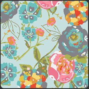 Bari J. Ackerman - Lilly Belle - Garden Rocket in Turquoise
