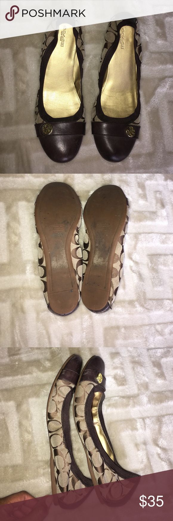 Coach flats SZ 10 Coach flats SZ 10 Coach Shoes Flats & Loafers