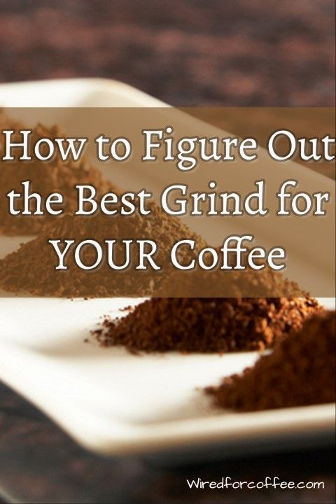 There's an infinite amount of coffee bean grind settings. How do you know which one you need? From fine grind to coarse ground, find out here.