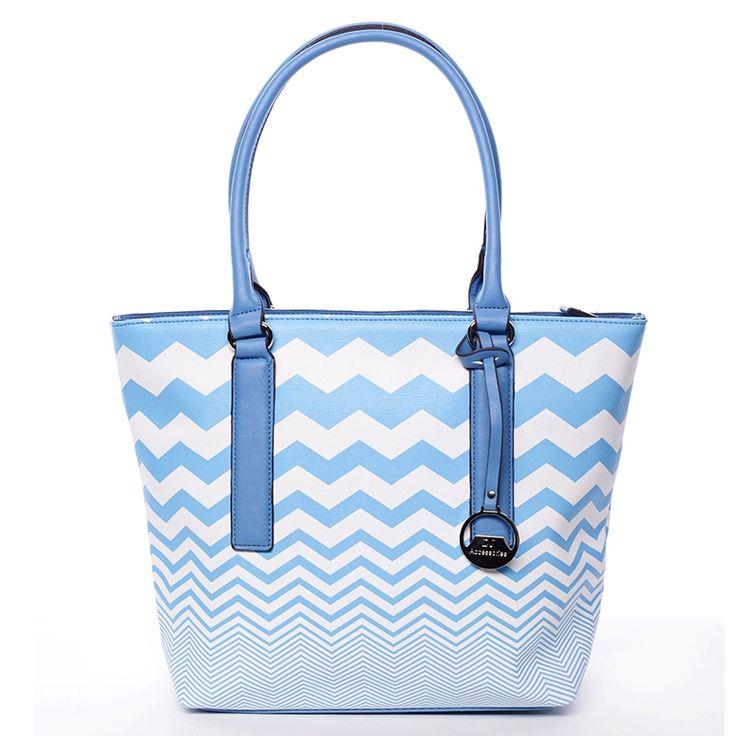 Letní modrá dámská kabelka David Jones.