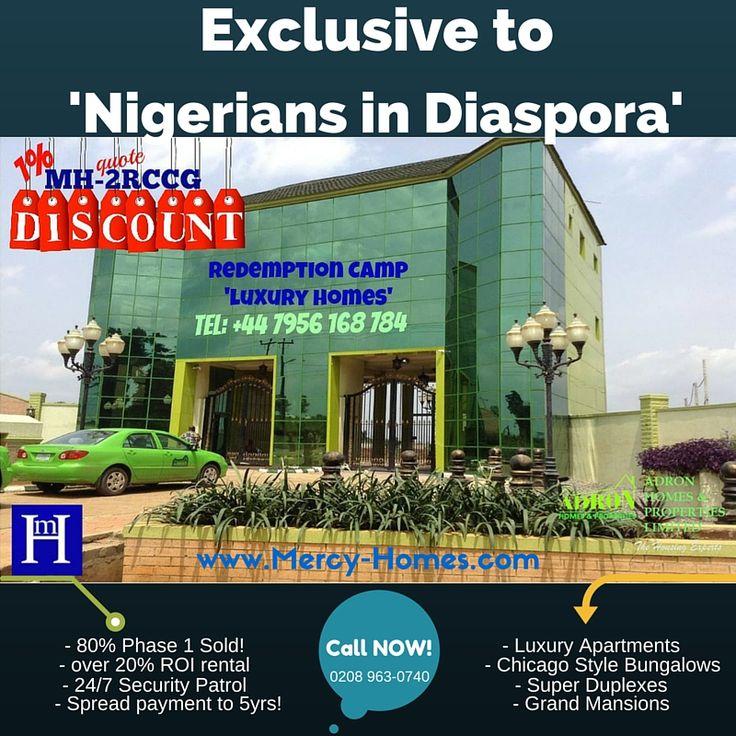 Luxurious Homes near Redeemed Christian Church of God camp - RCCG members in diaspora go gaga!