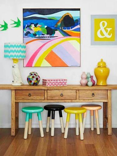 tabouret déco, tabouret table d'appoint, sélection table d'appoint, idées déco table basse, Lovely Market