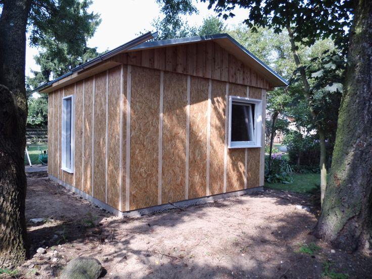 Simple  Do it yourself mein Holzhaus im Garten Gartenhaus aus Holz selber bauen Gartenhaus Pinterest Gartenh user aus holz Holzh uschen und