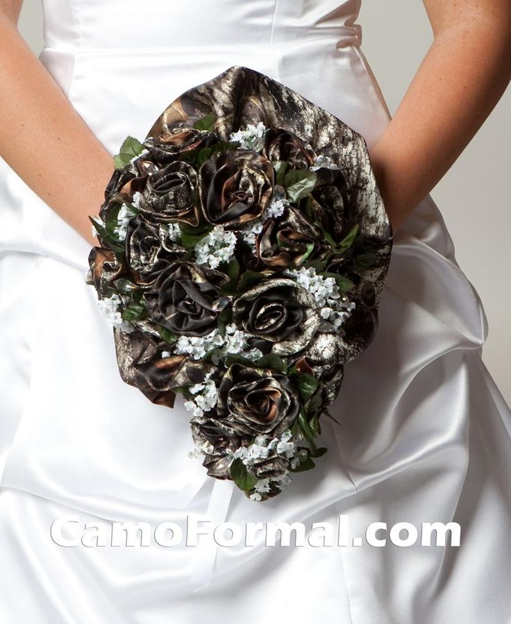 camo wedding dresses | Camo Wedding Dress is Not So Hard to Spot |
