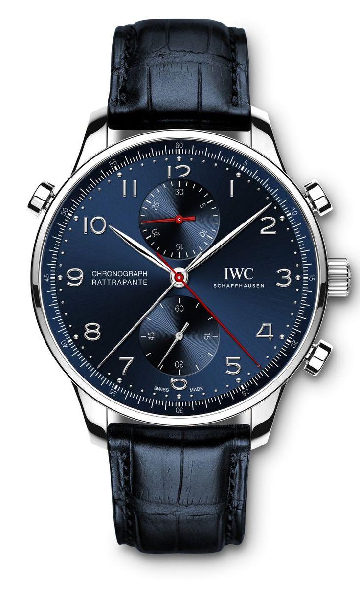 TimeZone : Industry News » N E W  M o d e l s - IWC Portugieser Chronograph Rattrapante L.E.