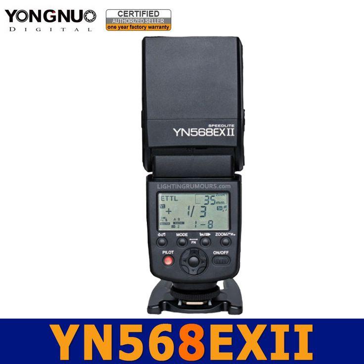 >> Click to Buy << Yongnuo YN568EX II Master Flash E-TTL HSS 1/8000s Speedlight speedlite for Canon 60D 650D 600D 550D 500D 5D 5DmarkII 450D 400D #Affiliate