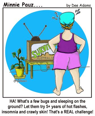 Menopause Cartoons - Minnie Pauz (for the woman facing or going through #menopause) #Humor