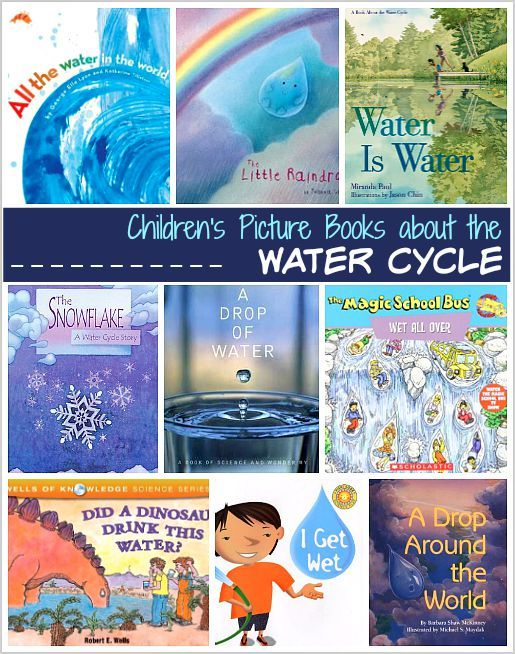 Science for Kids: Children's Books about the Water Cycle (Great resource for NGSS) ~ BuggyandBuddy.com