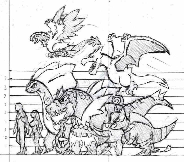 Fossil Pokemon line-up.
