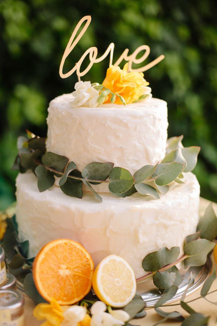 wedding cake agli agrumi
