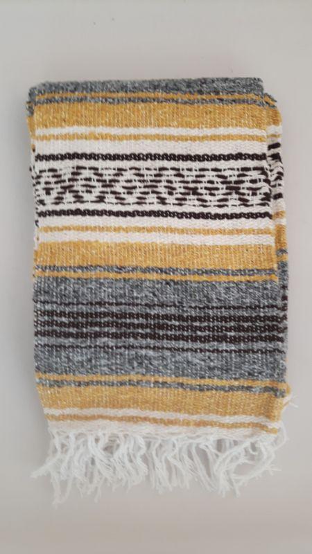 mexicaanse deken mustard