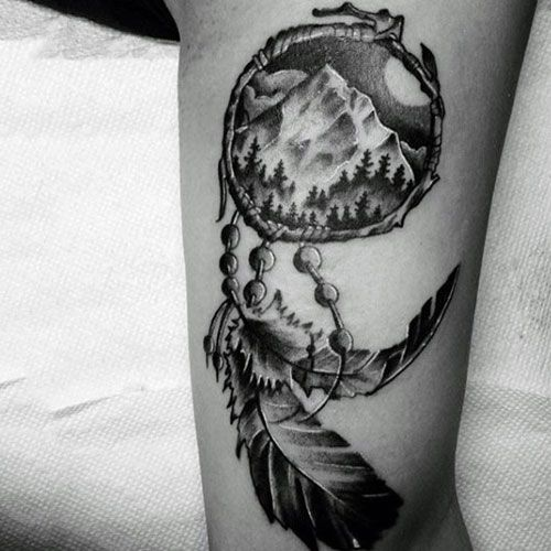 Dream Catcher Tattoo For Men Brilliant 13 Best Dreamcatcher Tattoos Images On Pinterest  Dream Catcher Design Decoration