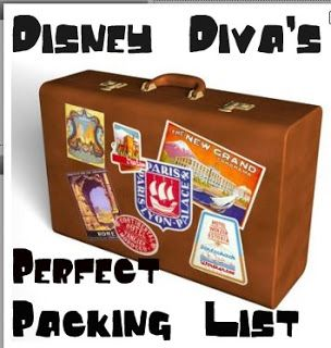 Tips from the Disney Divas & Devos: Packing Checklists
