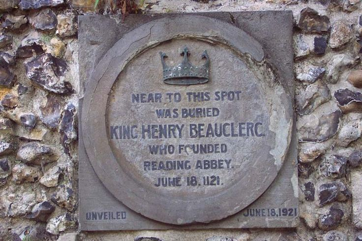 King Henry Beauclerc de Normandie, I