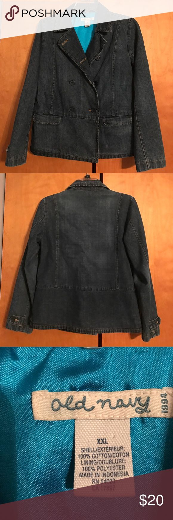 Cute Old Navy Jacket Old Navy jean jacket, excellent preloved condition (0625017) Old Navy Jackets & Coats Jean Jackets