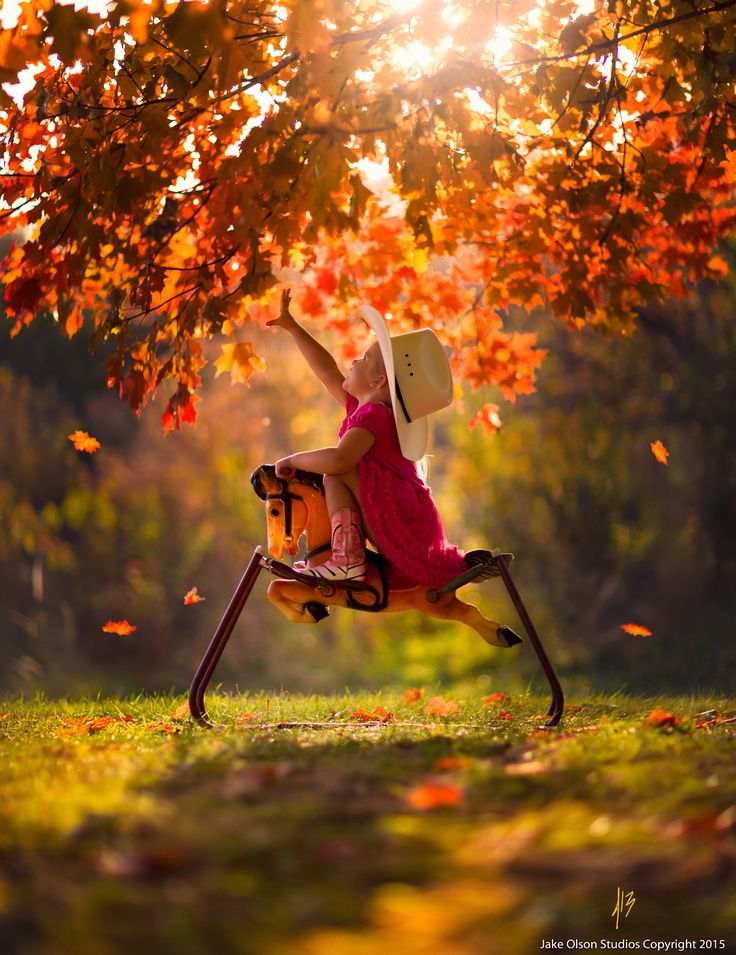 In Autumn's Reach by Jake Olson Studios