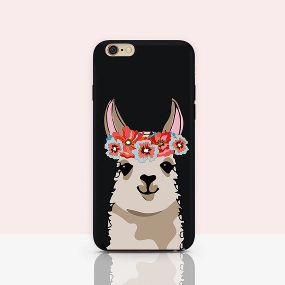 great fit e6a3b 51407 Llama iPhone 6s Case, Funny llama case Alpaca iphone case lama case ...