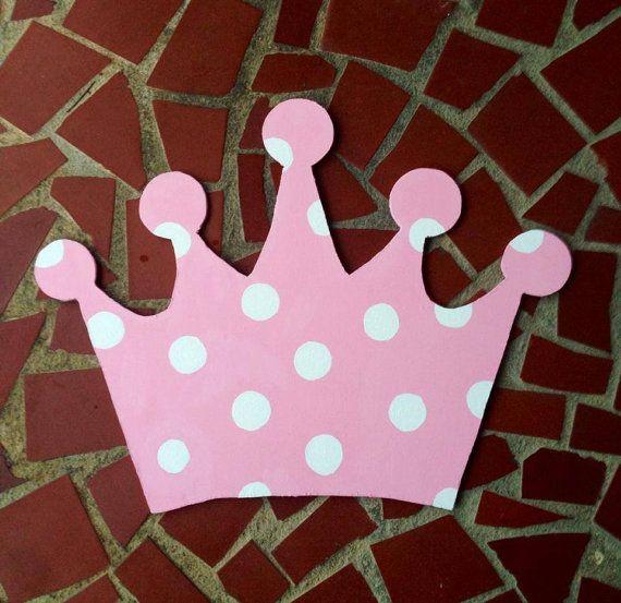 Princess Crown Door Hanger & 80 best Paint party ideas images on Pinterest | Wooden door ... pezcame.com