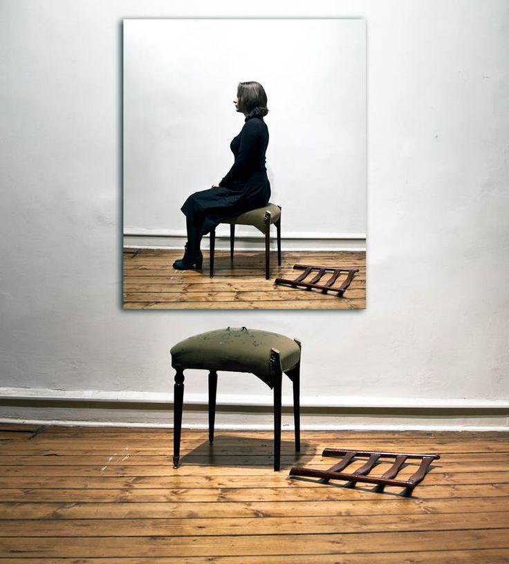 """""""Chair"""" 2012 Lack SeriesC- Print 166x150 cm"""