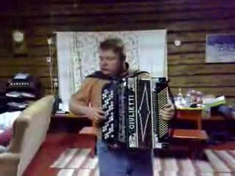Säkkijärven Polkka played by Jussi Marttinen Mikkeli, Finnish Accordion classic. This song was played on radio non-stop for half a year in Viipuri during the WW2 to prevent Russians from detonating their radio-controlled mines, apparently.