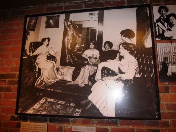 """Photo of some of Seattle's most successful """"seamstresses"""" from the pioneer days of Seattle - seen on the Underground Seattle Tour http://www.squidoo.com/seattle-underground-tour"""
