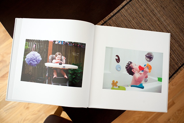 """Great way to document a year — """"Saturdays with Maggie"""" Photobook. Take a picture of your kid every Saturday and make a Photobook at the end of the year with date stamps and descriptions."""