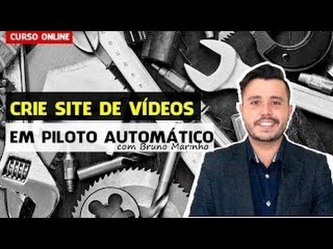 Crie Site de Videos em Piloto Automatico Curso Online - YouTube