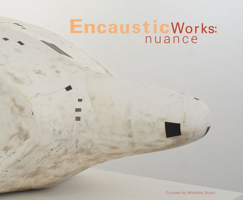 """Encaustic Works: Nuance is an exhibition in print curated by artist, Michelle Stuart, published by RF Handmade Paints. This publication features seventeen contemporary artists working with hot wax and measures 10.75"""" x 9.25"""" with 132 full color pages. This book will begin shipping on July 1st, 2014."""