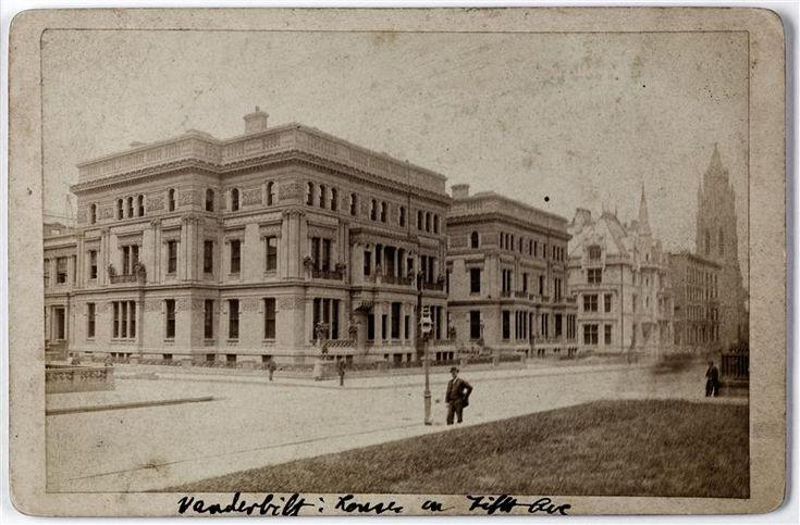William H. Vanderbilt House (twin Vanderbilt Houses) 5th Avenue and 51st Street.]Museum of the City of New York