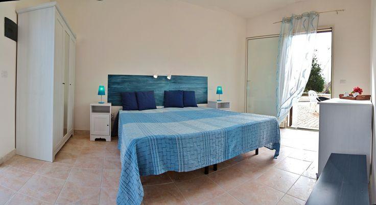 Una delle nostre camere blu