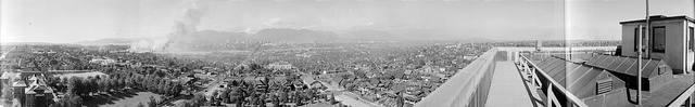 [View of Fairview and Mount Pleasant from the roof of City Hall, 12th Avenue and Cambie Street] by City of Vancouver Archives, via Flickr    This is my neighborhood, in 1939.  INSANE!