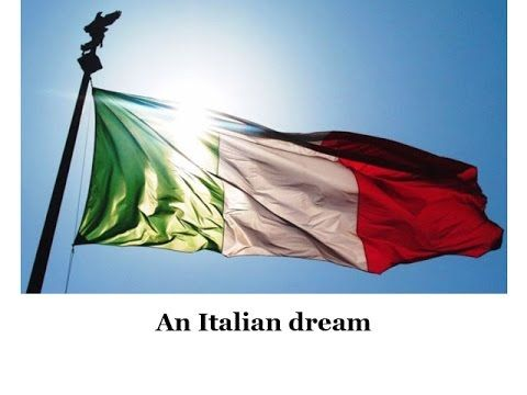 Special gift for an Italian dream