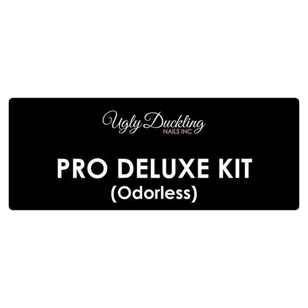 Contains 250ml Odorless Acrylic Liquid Nail Prep 15ml Nail Primer 15ml 2 x 80gm Clear Powder Forms 500 roll Premium Kolinsky 8 Oval Brush - White Brush Cleaner