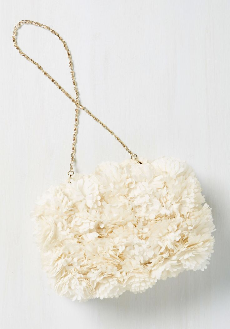 Brings You to Your Peonies Clutch, #ModCloth