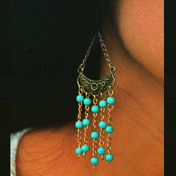 Check out this item in my Etsy shop https://www.etsy.com/dk-en/listing/483393462/turquoise-jewelry-turquoise-earrings